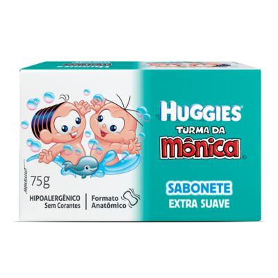 Sabonete Turma da Mônica Huggies Suave 75g