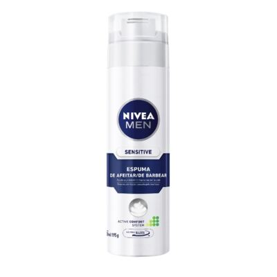 Imagem 1 do produto Espuma Barba Nivea For Men Sensitive 193g