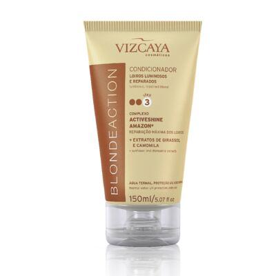 Imagem 8 do produto Shampoo Vizcaya Blonde Action 200ml + Condicionador Vizcaya Blonde Action 150ml