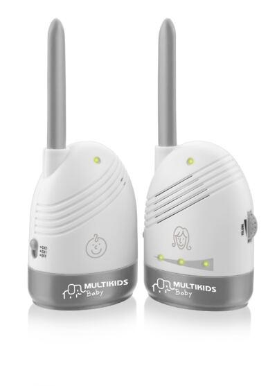 Babá Eletrônica Sem Tela Baby Sound Multikids Baby BB002