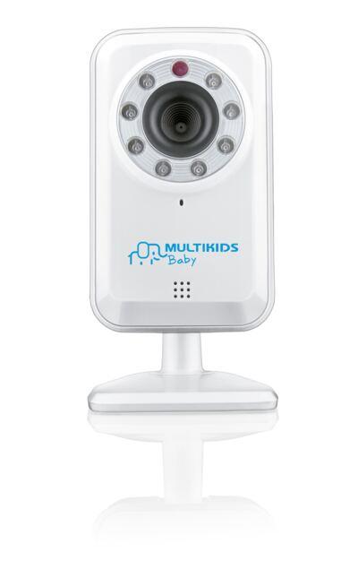 Imagem 1 do produto Babá Eletrônica Multikids Baby Wi-Fi BB209