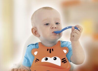 Imagem 2 do produto Babador de Silicone Silybib (Leão) Multikids Baby - BB042
