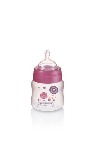 Imagem 1 do produto Mamadeira Boys & Girls Pp Rosa Ortonatural 125Ml Multikids Baby - BB104