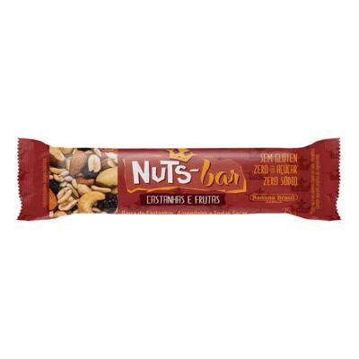Imagem 1 do produto Barra Nuts Bar Castanhas e Frutas 25g