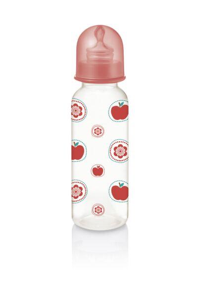 Imagem 2 do produto Mamadeira Nature Pp Vermelha Ortoflex 250ml Multikids Baby - BB116