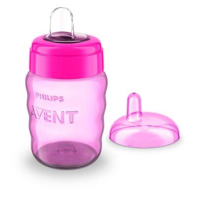 Imagem 1 do produto Copo Infantil Antivasamento Avent Easy Girls 260ml