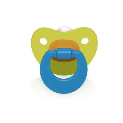 Imagem 1 do produto Chupeta Colors Pp Verde Ortoflex Tam 2 (6-18 M) Multikids Baby - BB129