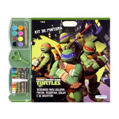 Kit de Pintura Tartarugas Ninja - BR066