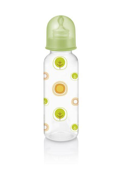 Imagem 2 do produto Mamadeira Nature Pp Verde Ortoflex 250ml Multikids Baby - BB115