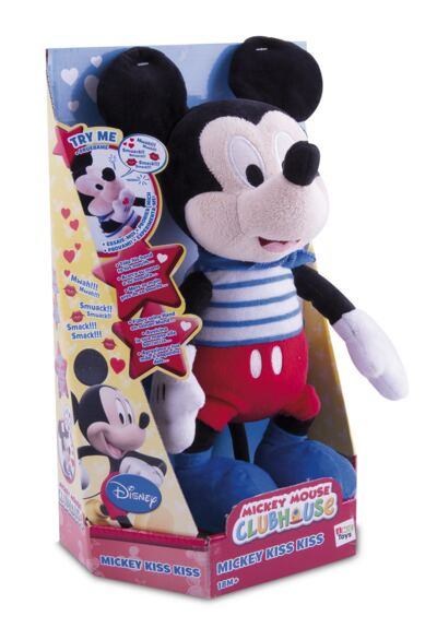 Imagem 2 do produto Pelúcia Mickey Kiss Kiss Multikids - BR291