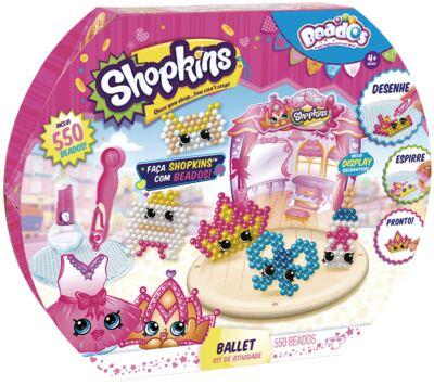 Imagem 1 do produto Beados Shopkins Atividades Ballet - BR574