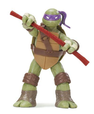 Imagem 1 do produto Tartarugas Ninja Boneco Donatello 12 cm - BR030B