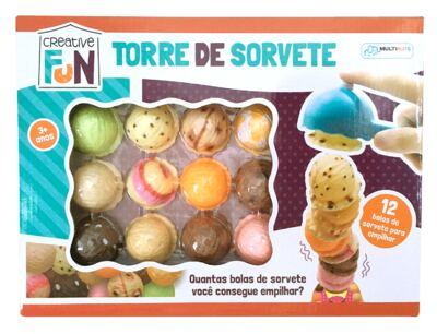 Creative Fun Torre de Sorvete- BR645