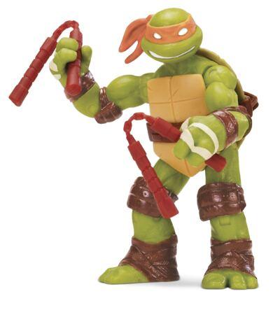 Tartarugas Ninja Boneco Michelangelo 12 Cm  -  BR030C