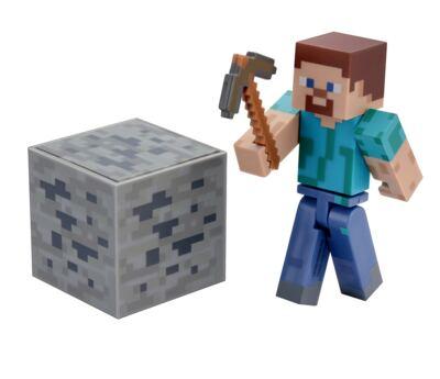 Boneco Steve Minecraft Com Acessórios - BR144B