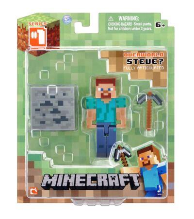 Imagem 2 do produto Boneco Steve Minecraft Com Acessórios - BR144B