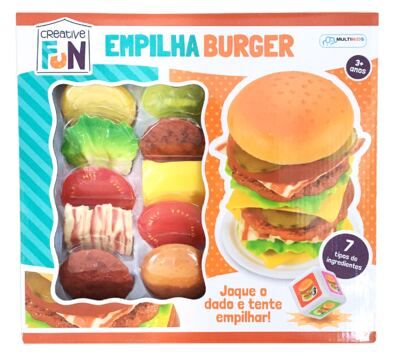 Imagem 1 do produto Creative Fun Empilha Burguer - BR646