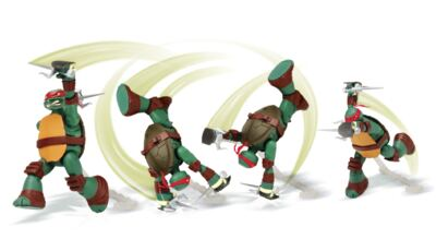 Imagem 2 do produto Tartarugas Ninja Action Raphael -  BR286C