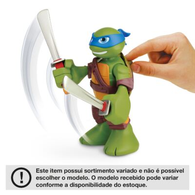 Imagem 2 do produto Tartarugas Ninja 15 cm - BR290