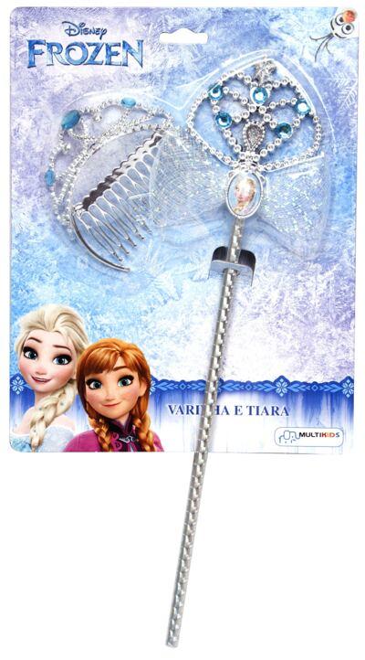 Acessórios Frozen - Coroa e Varinha - BR618