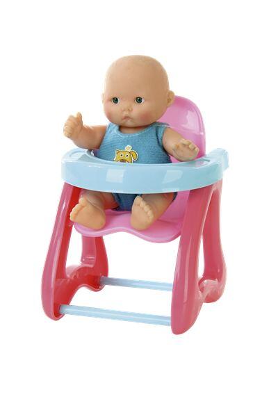 Mami Baby Boneca Com Cadeirão Multikids - BR657
