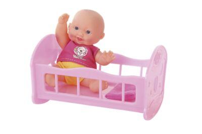 Imagem 1 do produto Mami Baby Boneca com Berço - BR655