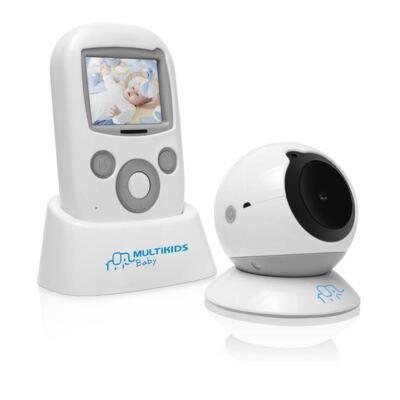 Imagem 7 do produto Babá Eletrônica Multikids Baby com Tela Baby View BB001