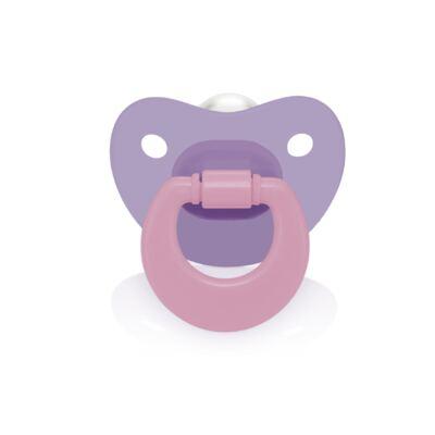 Imagem 1 do produto Chupeta Colors Pp Roxa Ortoflex Tam 2 (6-18 M) Multikids Baby - BB130