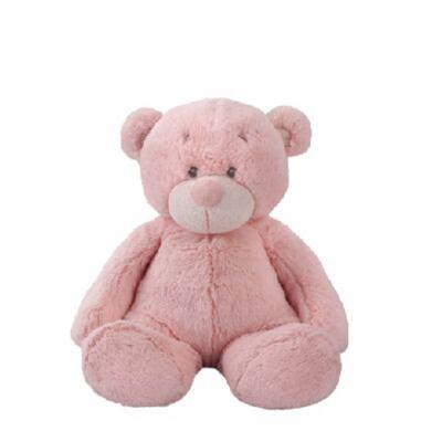 Ursinho de Pelúcia Rosa 30 Cm Bonnie Bear Multikids - BR169