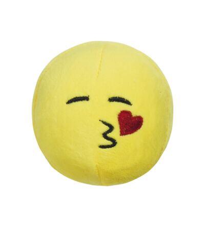 Imagem 1 do produto Pelúcia Multikids Emoji Beijo 7cm com ventosa BR557
