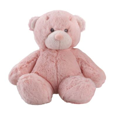 Pelúcia Rosa Bonnie Bear 20 Cm Multikids - BR168
