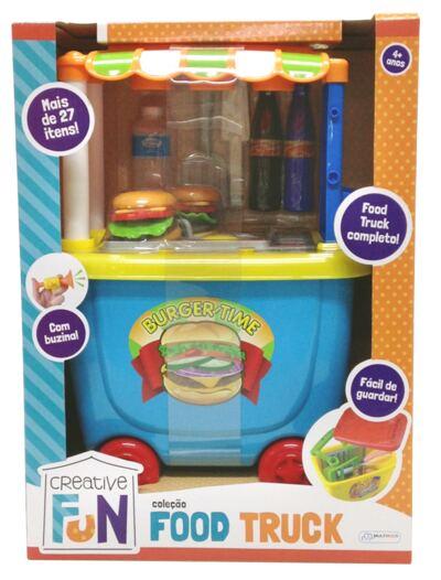 Imagem 2 do produto Creative Fun Food Truck Hamburguer - BR579