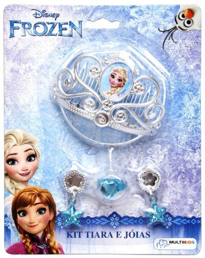 Acessórios Frozen - Coroa e Joias - BR624
