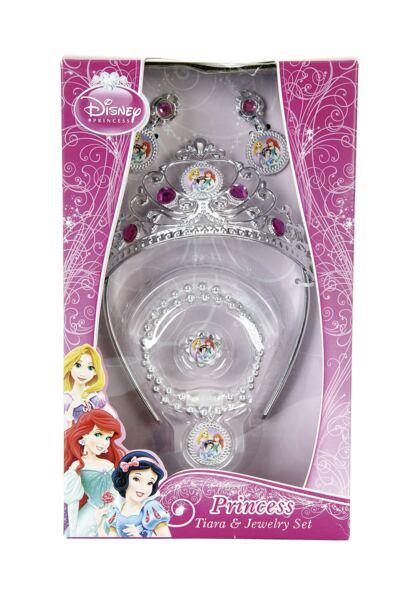 Acessórios Princesas - Coroa e Joias Deluxe - BR630