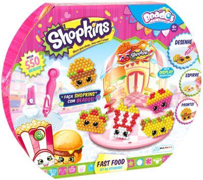 Imagem 1 do produto Beados Shopkins Atividades Fast Food - BR572