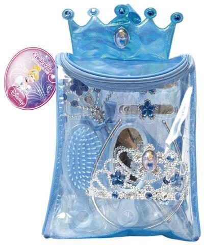 Kit Bolsa de Acessórios Princesas Cinderella - BR632