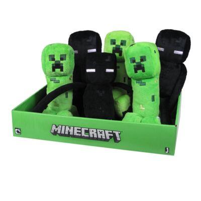 Imagem 1 do produto Minecraft Enderman Boneco de Pelúcia Original Mojang Personagem Jogo Game - BR145