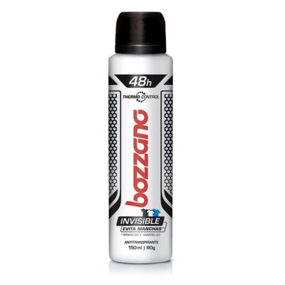 Desodorante Aerosol Bozzano Thermo Control Invisible 150ml