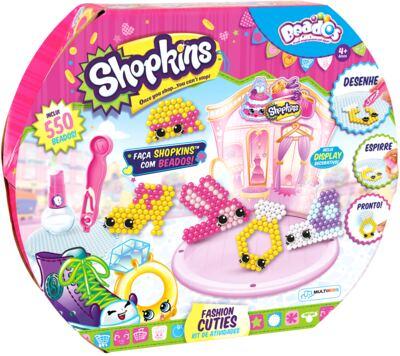Beados Shopkins Atividades Fashion Cuties - BR571