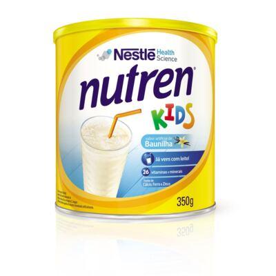 Suplemento Alimentar Nestlé Nutren Kids Baunilha 350g