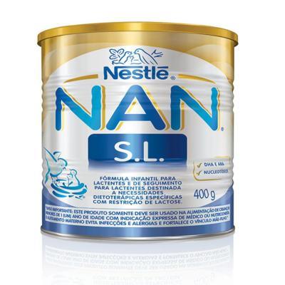 Imagem 1 do produto Fórmula Infantil NAN Sem Lactose Lata 400g