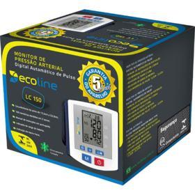 Monitor de Pressão Arterial Digital Automático de Pulso Ecoline LC 150