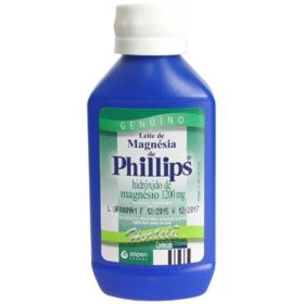 Leite de Magnésia Philips 1200mg Hortelã 350ml
