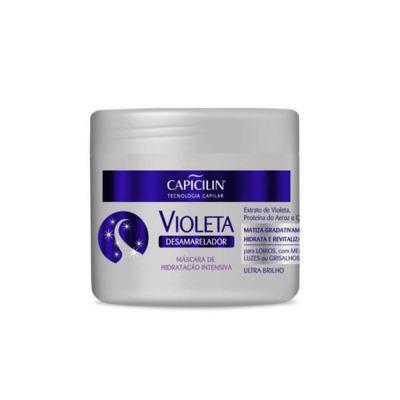 Máscara de Hidratação Capicilin Violeta Desamarelador 350g