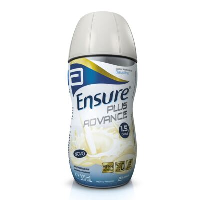 Suplemento Nutricional Ensure Plus Advance Baunilha 220ml