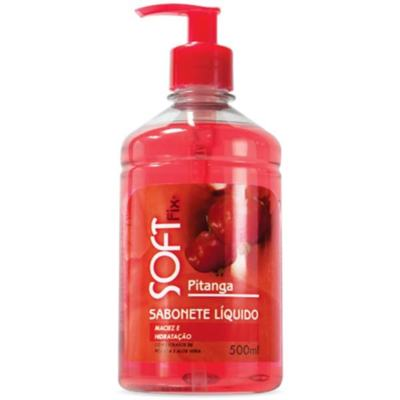 Sabonete Líquido Softfix Pitanga 500ml