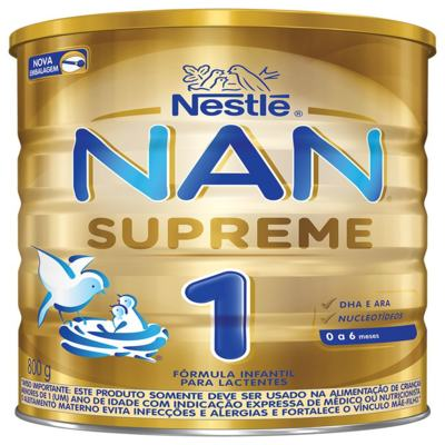 Imagem 1 do produto Formula Infantil Nan 1 - Supreme | 800g