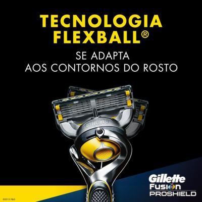 Imagem 3 do produto Aparelho de Barbear Fusion5 Proshield Gillette - 1 Un