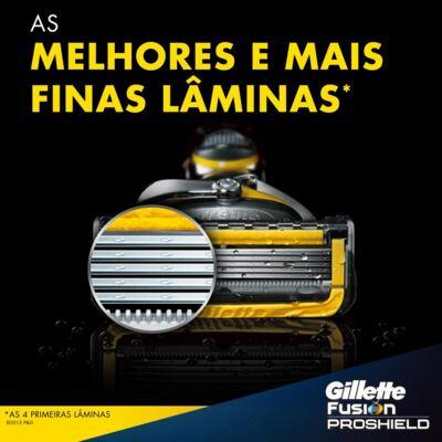 Imagem 4 do produto Aparelho de Barbear Gillette Fusion Proshield Flexball