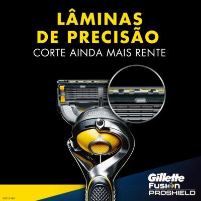 Imagem 5 do produto Aparelho de Barbear Gillette Fusion Proshield Flexball